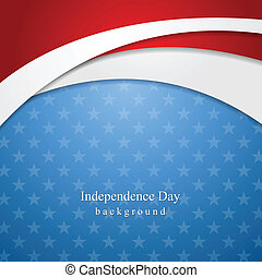 Abstract Independence Day background