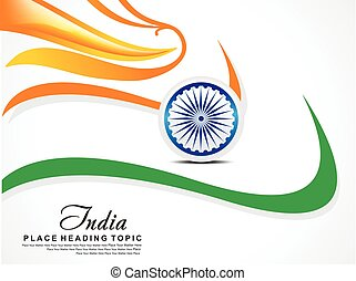 Abstract Independence Day Background vector illustration
