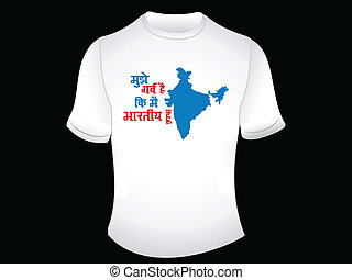 abstract indian proud tshirt