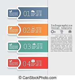 Abstract infographic. Can be used for workflow layout....