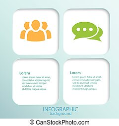 Abstract Infographic Template