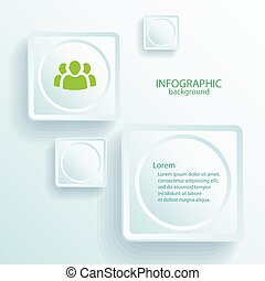 Abstract Infographic Web Design Elements