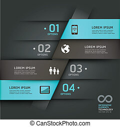 Abstract infographics communication