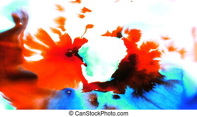 Abstract Ink Drop and Spread