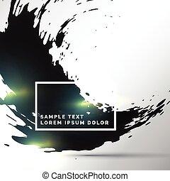 abstract ink splatter background