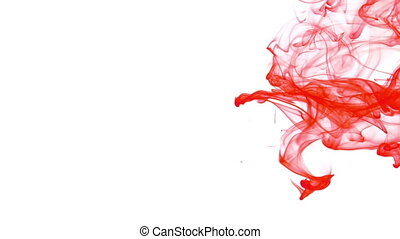 Abstract Ink Spread Flows in Underwater