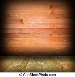 abstract interior wood background