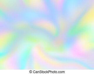 abstract iridescent holographic background, vector mesh...