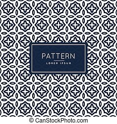 abstract islamic style pattern shape background