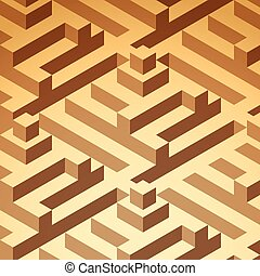 isometric buildings pattern