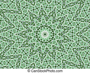 Abstract kaleidoscope background - Computer generated ...