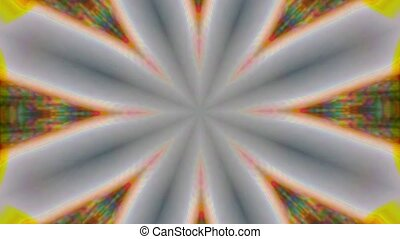 Abstract kaleidoscope fractal background, colorful...