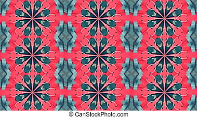 Sequence multicolored graphics ornaments patterns. -...