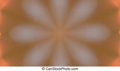 Abstract kaleidoscope motion background.