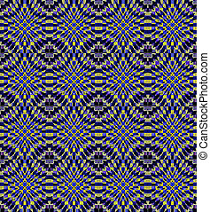 Abstract kaleidoscopic background - Seamless background....