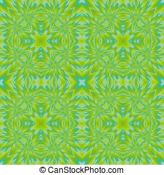Abstract kaleidoscopic pattern