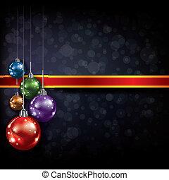 abstract, kerstmis, groet