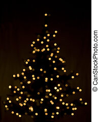abstract, kerstmis