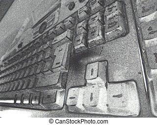 abstract keyboard
