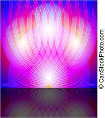 abstract, kleurrijke, achtergrond, van
