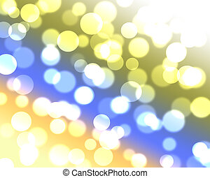 abstract, kleurrijke, bokeh, achtergrond