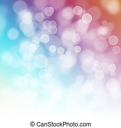 abstract, kleurrijke, bubbles.