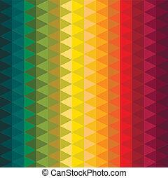 abstract, kleurrijke, geometrisch, achtergrond