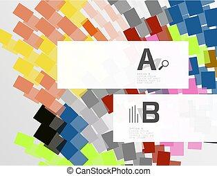 abstract, kleurrijke, strepen, achtergrond