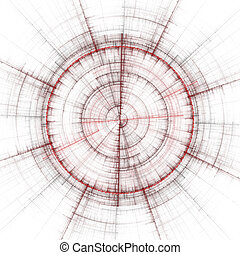 abstract, kompas
