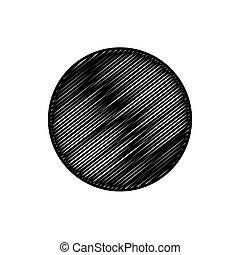 abstract, krabbelen, cirkel, achtergrond