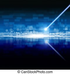 Abstract laser storage - Abstract techologycal backgrond -...