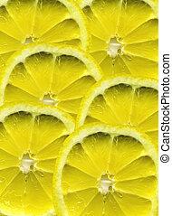lemon - abstract lemon patern