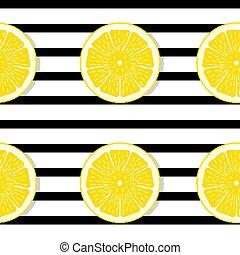 Abstract Lemon Seamless Pattern Background Vector Illustration