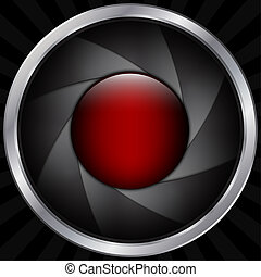 Abstract lens background - Abstract objective background ...