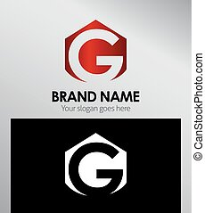 Abstract Letter g Icon