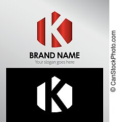 Abstract Letter k Icon