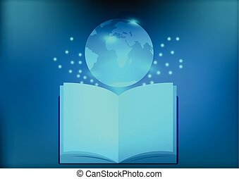 Abstract Library Electronic Book for Education Social Network
