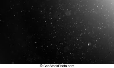 Abstract Light and Dust Particles