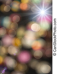 Abstract light background. bokeh