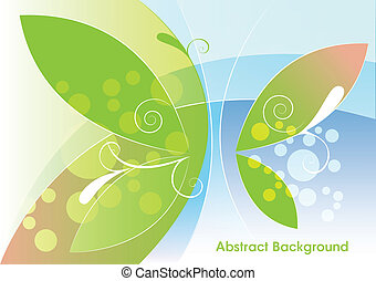 Abstract light background, vector
