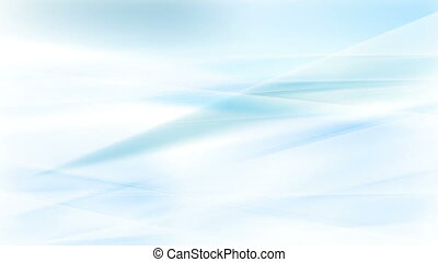Abstract light blue and white stripes video animation