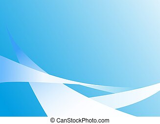 abstract light blue background with lines