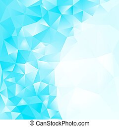 abstract light blue background with polygonal design