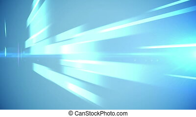 Abstract light blue business technology