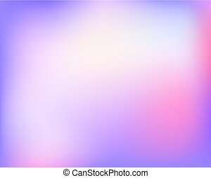 Abstract light blue violet bright blured gradient background. Vector llustration.