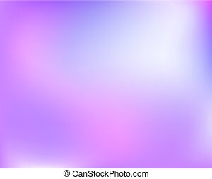 Abstract light blue violet bright blured gradient background. Vector llustration.