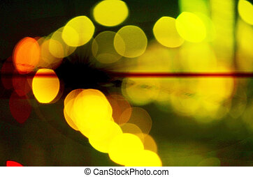 Abstract Light Blur