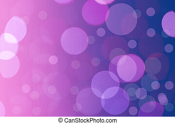 abstract light bokeh blue and pink color on black background