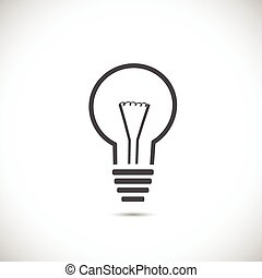 Abstract Light Bulb