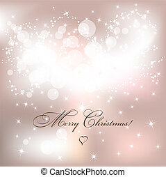 Christmas background - Abstract light Christmas background...